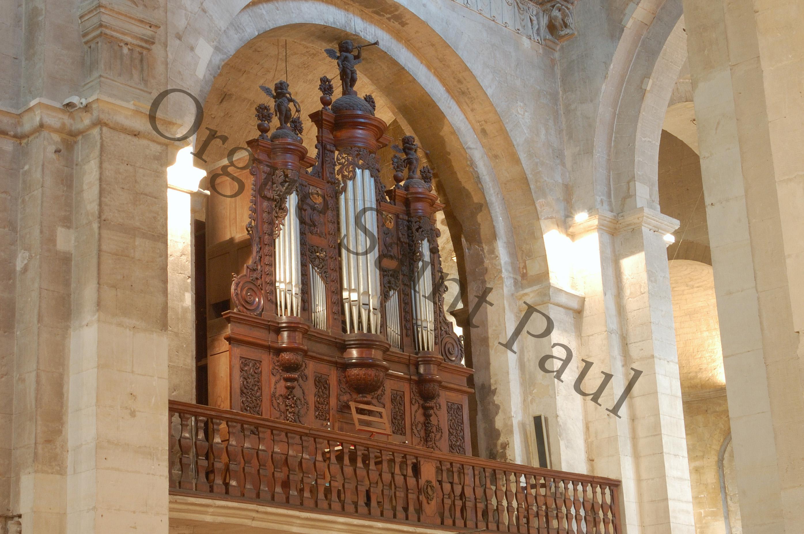 Association l 39 orgue de la cath drale de saint paul trois - La table des seigneurs saint paul trois chateaux ...